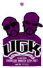 UGK - Fox and Hound Austin Bobby Dixon  'Poster Artist: Bobby Dixon-Band: UGK-Venue / Date: Fox and Hound - Austin, TX - 3/15/2007-Size: 24'' X 36''-Media: 2 color screen print'
