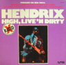 High Live N Dirty Hendrix Jimi  ROCK LP  S  M-/M-  RED VINVL