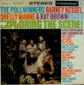Exploring The Scene Kessel Barney  JAZZ LP  S  VG++/VG++  LABEL ON COVER/BLK LABEL