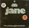 Fire Water Earth & Air Jane  ROCK LP  S  VG+/M-  LAMINATE BUBBLED/STICKER ON FRONT COVER/GERMANY