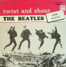 Twist and Shout Beatles  ROCK LP  S  VG++/M-  SLIGHT COVER WEAR/STICKER ON FRONT COVER/PURPLE Silver LABEL/CANADA