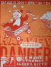 Harvey Danger / So Many Dynamos - Schubas Chicago, IL Sleepy Kitty  'Price: 19.99-Poster Artist: Sleepy Kitty  / Illustrations: Jim Woodring-Band: Harvey Danger / So Many Dynamos-Venue / Date: Schubas - Chicago, Illinois - 08/15/2009-Size:  25'' x 19''-Media: 2 color screen print'