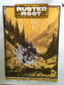 Rusted Root - Old Rock House St. Louis, MO Sleepy Kitty  'Price: 19.99-Poster Artist: Sleepy Kitty-Band: Rusted Root-Venue / Date: Old Rock House - St. Louis, MO - 06/12/2011-Size: 28'' x 20''-Media: 2 color screen print-Edition: of only 73 signed & numbered by Designer Sleepy Kitty'