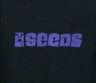 The Seeds Logo T-Shirt - Extra Large T-Shirts  Professionally printed, 100% Cotton gildan, heavy weight, high quality black t-shirt.