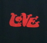Love Logo T-Shirt - Extra Large T-Shirts  Professionally printed, 100% Cotton gildan, heavy weight, high quality black t-shirt.